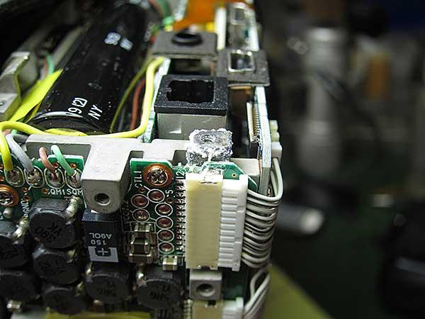 Corrosion on a Nikon